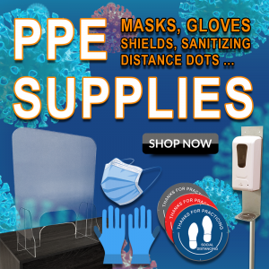 PPE Supplies in stock!